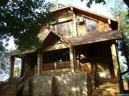 Строительство деревянных домов, коттеджей, бань, дач из клее