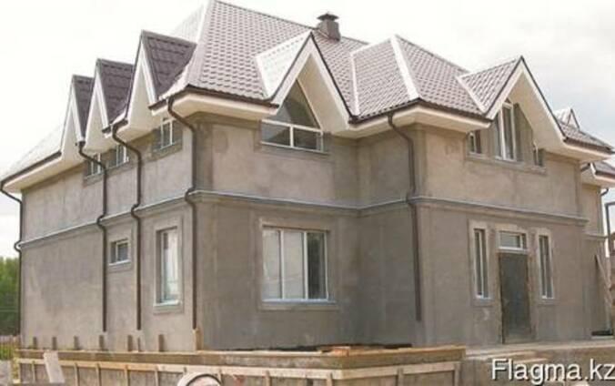 Строительство домов, коттеджей, комплексов. Отделка здания.