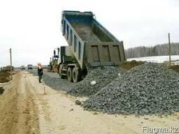 Строительство дорог в Астане