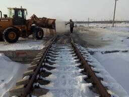 Строительство железнодорожных путей монтаж демонтажжд путей