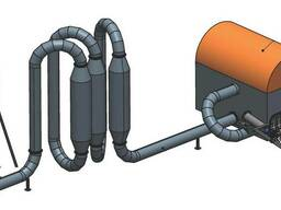 Сушильные комплексы КС (300,600 кг/ч). Сушка опилок. Сушилка