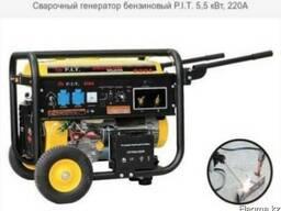 Сварочный генератор бензиновый P. I. T. 5, 5 кВт, 220А