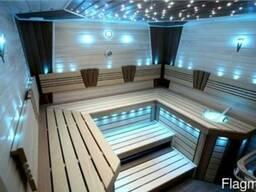 Светодиодное и оптоволоконное освещение для саун и хамамов.