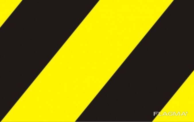 Светотражающая лента черно желтая