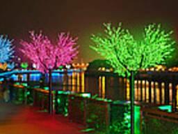 """Светящееся дерево """" Сакура 2, 5 м """" всех цветов , Led дерево"""