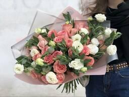 Свежие цветы. Элегантный букет Алматы. Звоните!