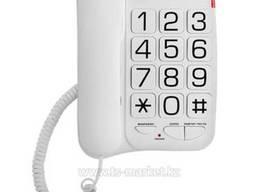 Телефон проводной Texet TX-201 (белый)