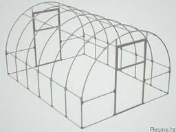 Теплица из поликарбоната серии Профи, ширина 3м, длина от 4м