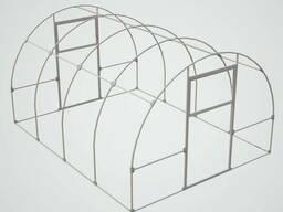 Теплица из поликарбоната Стандарт, ширина 3м длина от 4м