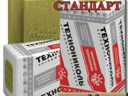 Теплоизоляционные плиты ТехноВентСтандарт 72-88 кг/куб. м 50