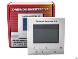 Терморегулятор для теплого пола Daewoo Enertec X3 программ.