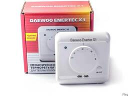 Терморегулятор для теплого пола Daewoo Enertec X1 с механич.