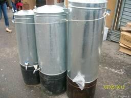 Титаны жаровые (на дровах) для нагрева воды