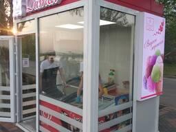 Торговые павильоны для продажи мороженого