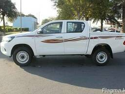 Toyota Hilux DC 2. 7L 4x4 GL, Petrol, Automatic, 2020 модель