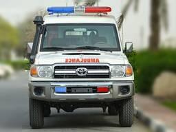 Toyota Land Cruiser 78 HardTop 4. 5L V8 Diesel Ambulance