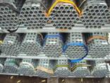 Труба оцинкованная 48,3 х 4,0 х 6000 мм BS1139 - фото 1