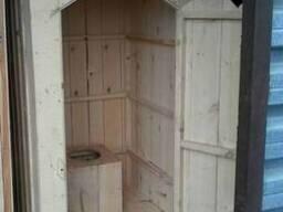 Туалеты Деревянные.