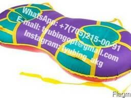 Тюбинг санки ватрушка Тандем двойная 155 см