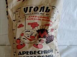 """Уголь древесный берёзовый """"Шашлычный рай"""" - 2 кг. - фото 1"""