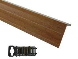 Уголок полнотелый 40*40 древесный полимер