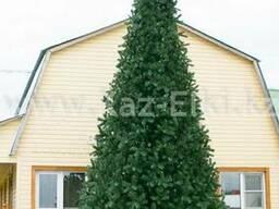 Уличная искусственная каркасная елка (хвоя-пленка), 12м