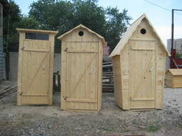 Уличные душевые и туалеты для дачи.