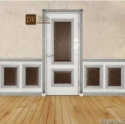 Ульяновские двери.Модель Имидж Премиум,патина серебро.
