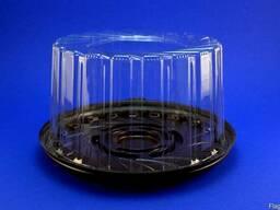 Упаковка, контейнер для торта РК 1410 (для 0,5кг) d-18,9см