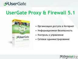 UserGate Proxy & Firewall 6.X до 5 сессий