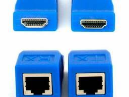 Усилитель сигнала HDMI кабелем CAT5/6 до 30 метров. ..