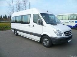 Услуги пассажирских перевозок на микроавтобусах 18-20 мест