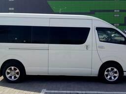 Услуги пассажирских перевозок на микроавтобусах