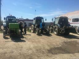 Услуги трактора МТЗ 80, 82 (щетка) метелка