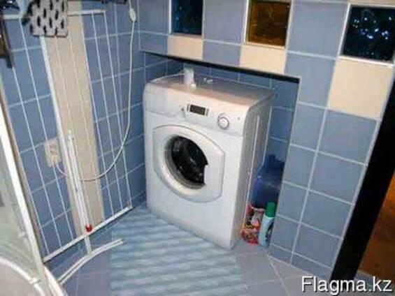 Установка и подключение стиральных и посудомоечных машин ст