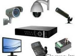Установка и монтаж систем видеонаблюдения и ОПС