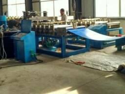 Установка по производству бескаркасных ангаров