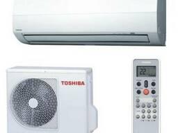 Установка системы кондиционирования Toshibа