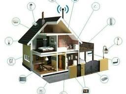 Установка видеонаблюдения, домофонов, протяжка кабелей - фото 2