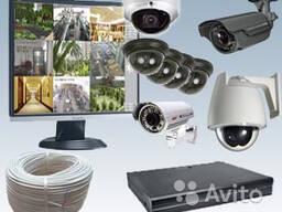 Установка видеонаблюдения, видеонаблюдение. Договорная