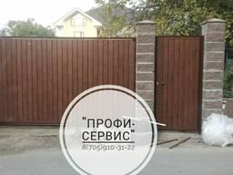 Установка ворот любой сложности и дизайна