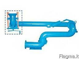 Устройства нижнего слива из жд.д. цистерн, типа УСН-200-04