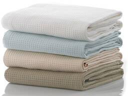 Вафельные полотенца для гостиниц Турция опт