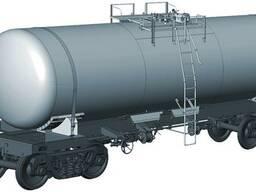 Вагон-цистерна для улучшенной серной кислоты, модель 15-9544