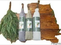 Веники для бани эвкалиптовые и лавровые оптом