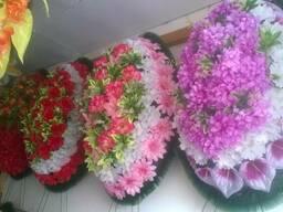 Венки траурные на похороны в Алматы доставка.