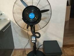 Вентилятор с водяным распылением