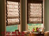 Вертикальные и горизонтальные жалюзи, рулонные и римские што - фото 3