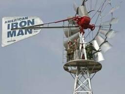 Ветронасос IronMan для подъема воды из скважин и колодцев - фото 3