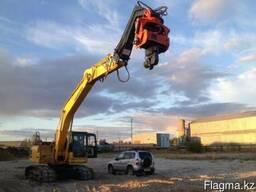 Вибропогружатель для экскаваторов массой от 22-30 тонн.